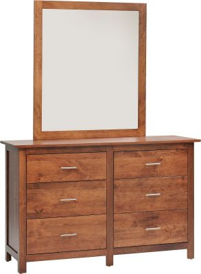 Austin Low Dresser with Mirror