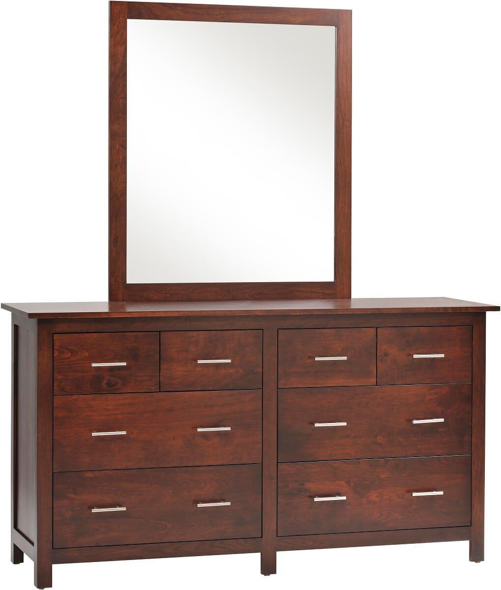 Austin Dresser with Mirror