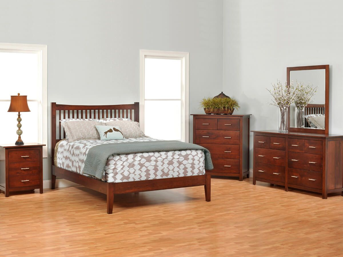 Austin Solid Wood Bedroom Furniture Set