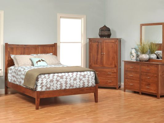 Austin Solid Wood Bedroom Set