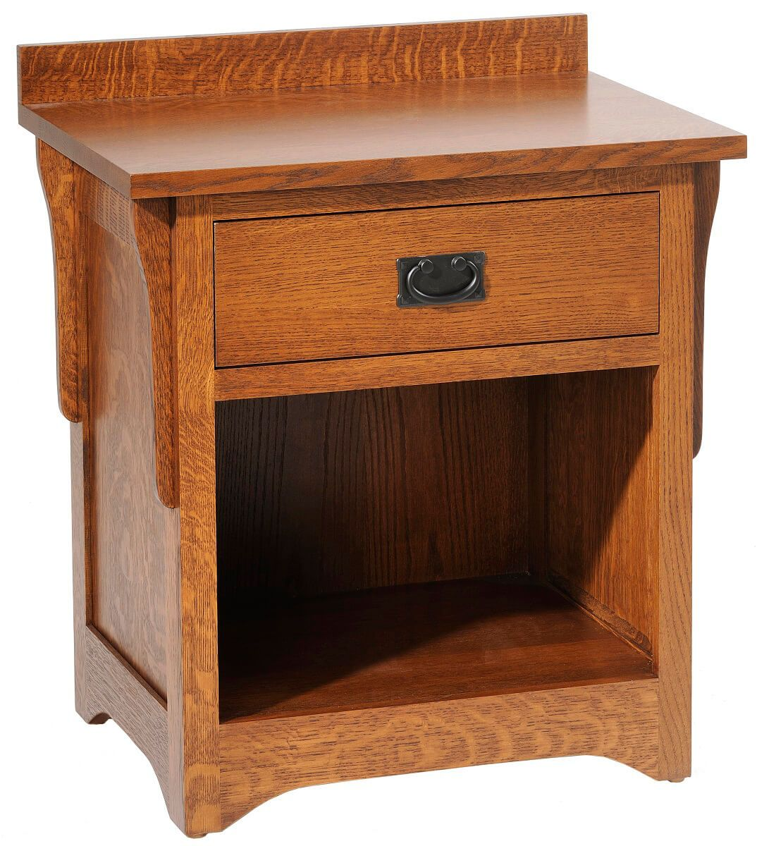Barcelona Mission Oak Nightstand