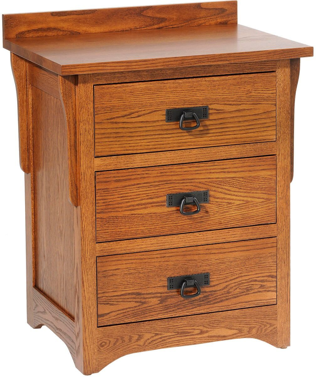 Barcelona 3-Drawer Nightstand
