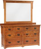 Barcelona 8-Drawer Low Dresser