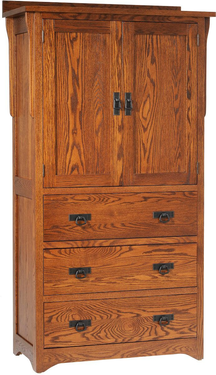 Barcelona Solid Wood Armoire