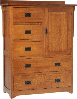 Barcelona Mission Chest of Drawers