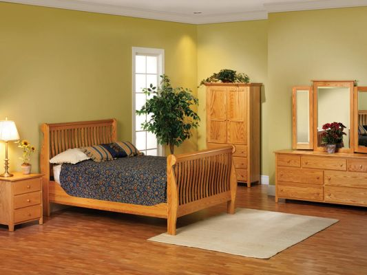 Brentwood Oak Bedroom Furniture Set