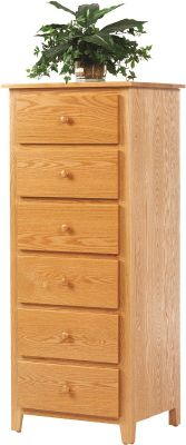 Brentwood Oak Lingerie Chest