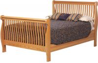 Brentwood River Sleigh Bed