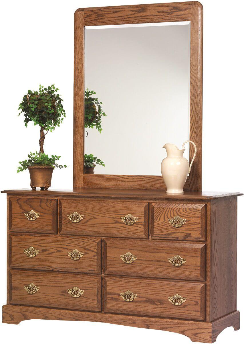 Cambridge 56 Inch Dresser with Mirror
