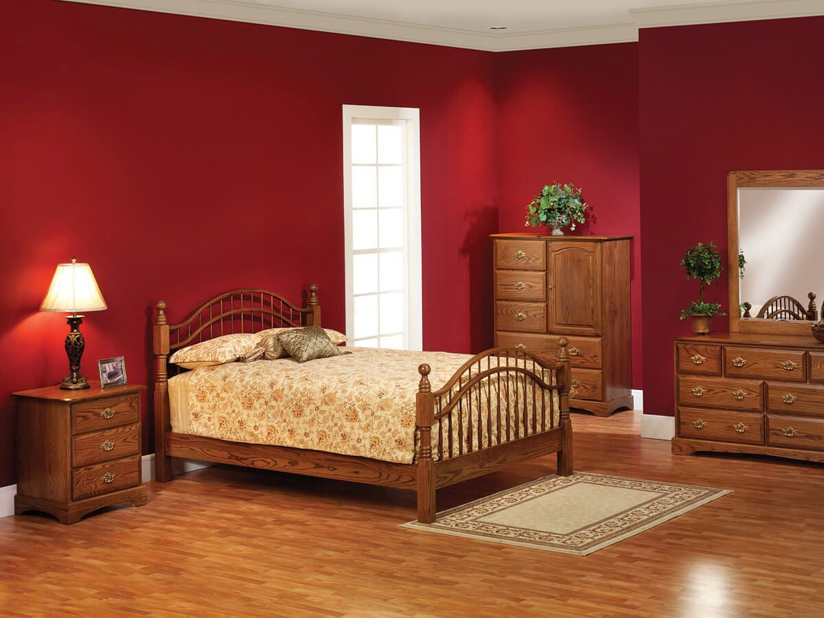 Cambridge Solid Oak Bedroom Furniture Set