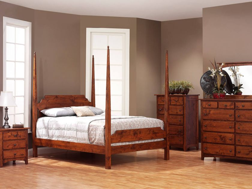Cascade Locks Amish Bedroom Set Countryside Amish Furniture
