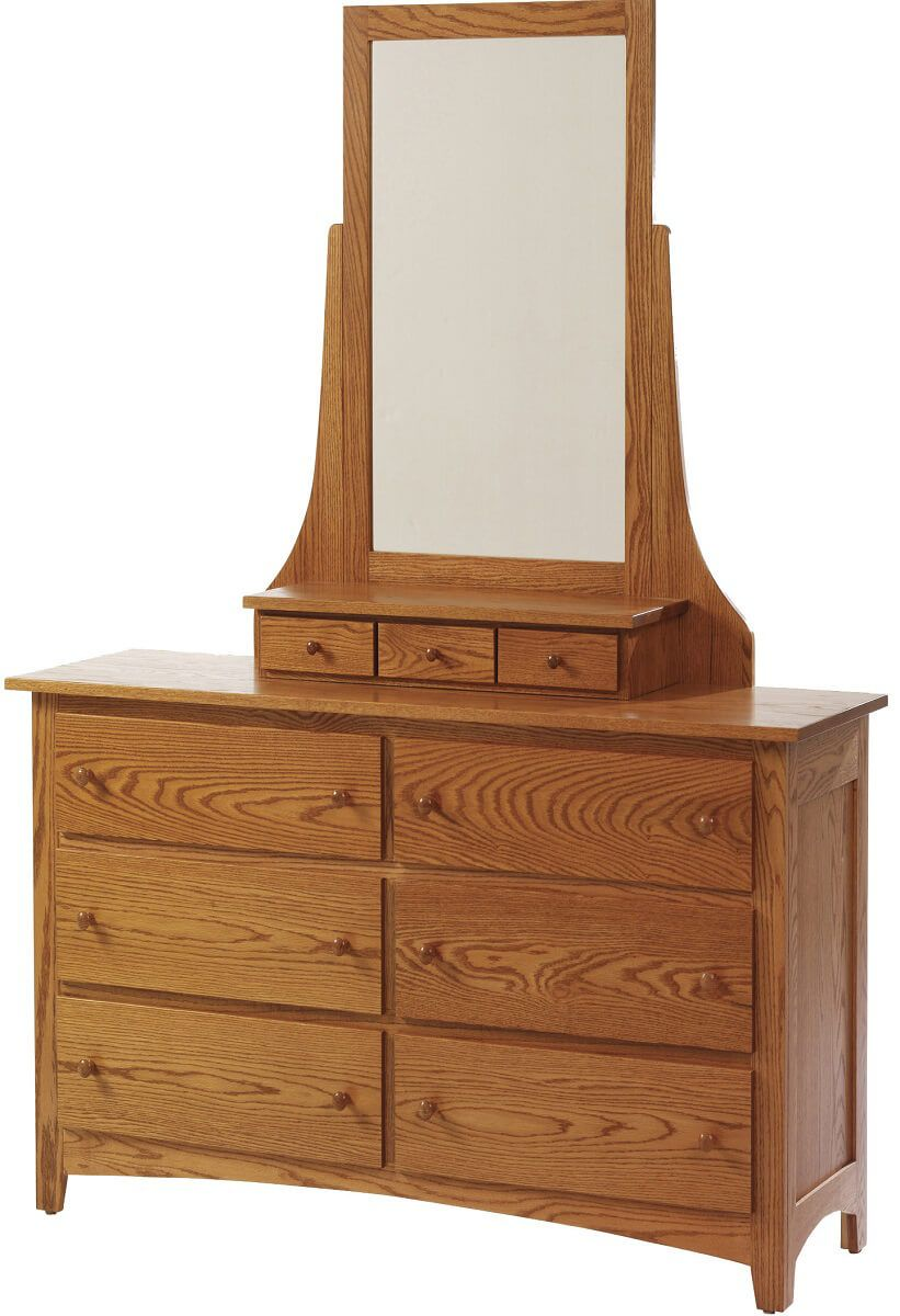 Cascade Locks Mirror Dresser