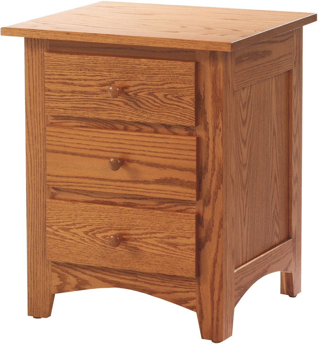 Cascade Locks 3-Drawer Nightstand