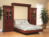 Charlemagne Murphy Bed with Bookcase