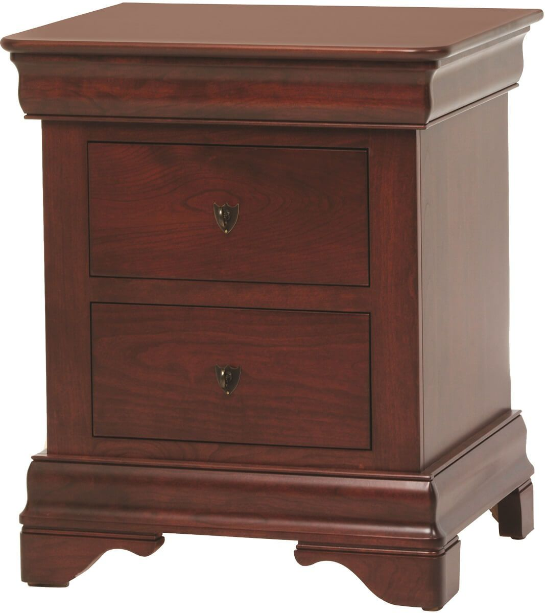 Charlemagne 3-Drawer Night Stand