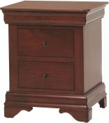 Charlemagne 3-Drawer Nightstand