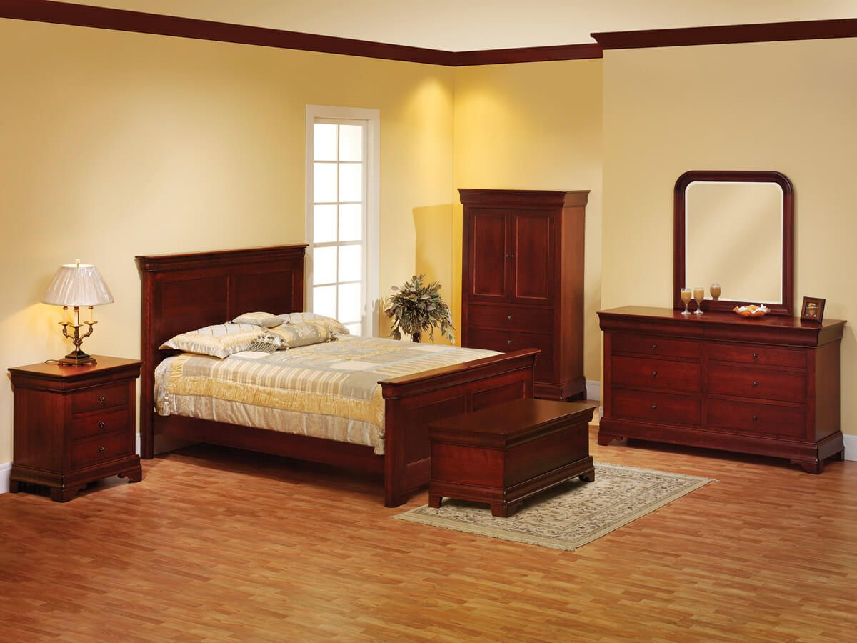 Charlemagne Panel Bedroom Set