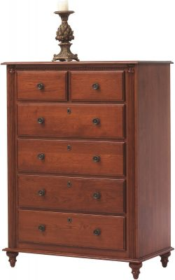 Clair de Lune Solid Wood Chest of Drawers