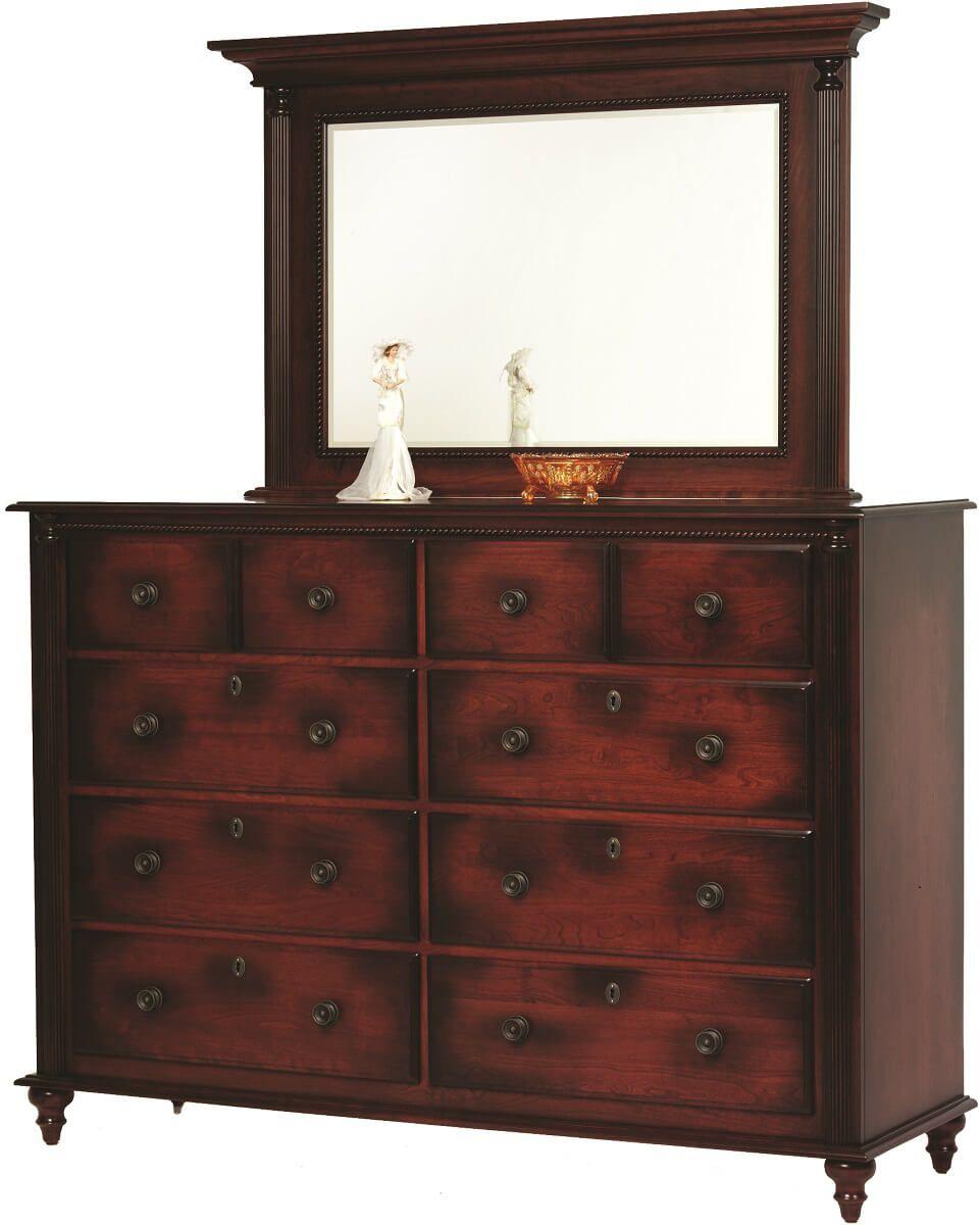 Clair de Lune Dresser with Mirror