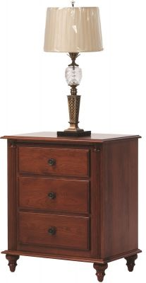 Clair de Lune Cherry Wood Nightstand