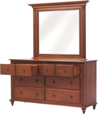 Clair de Lune Mirror Dresser - Drawer Detail