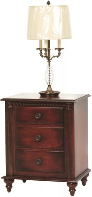 Clair de Lune Small Nightstand in Solid Cherry