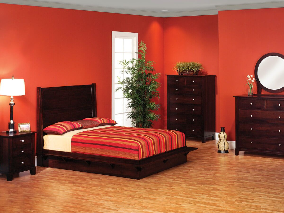 Darien Platform Bedroom Collection