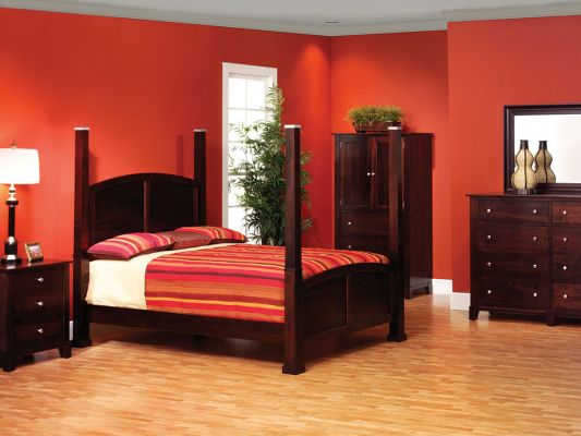 Darien Solid Wood Amish Bedroom Set