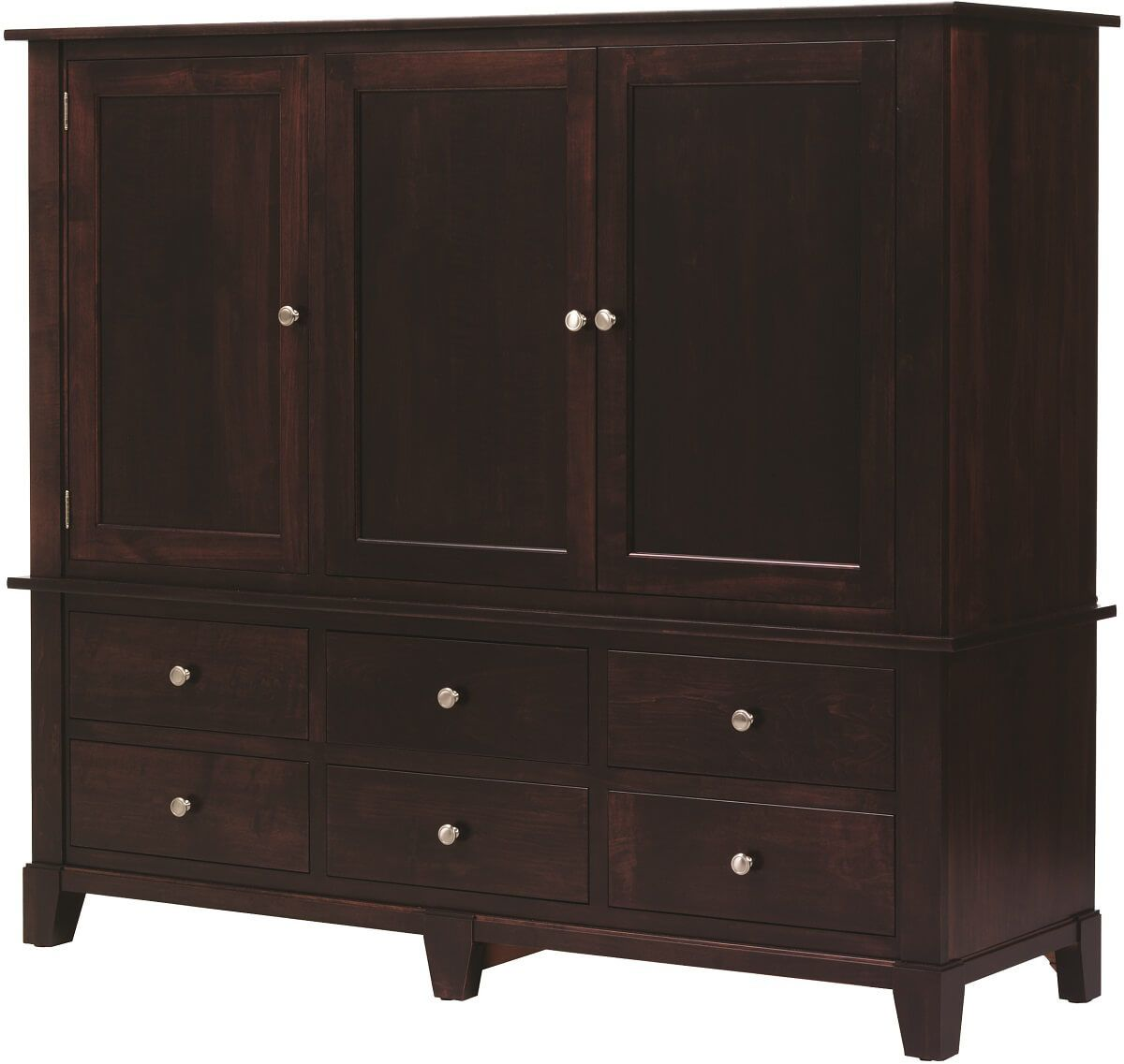 Darien Bedroom Entertainment Center