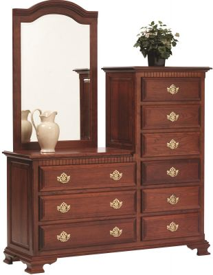Elizabeth's Traditions Dressing Chest in Cherry