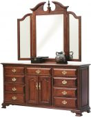 Elizabeth's Tradition Dresser with Mirror