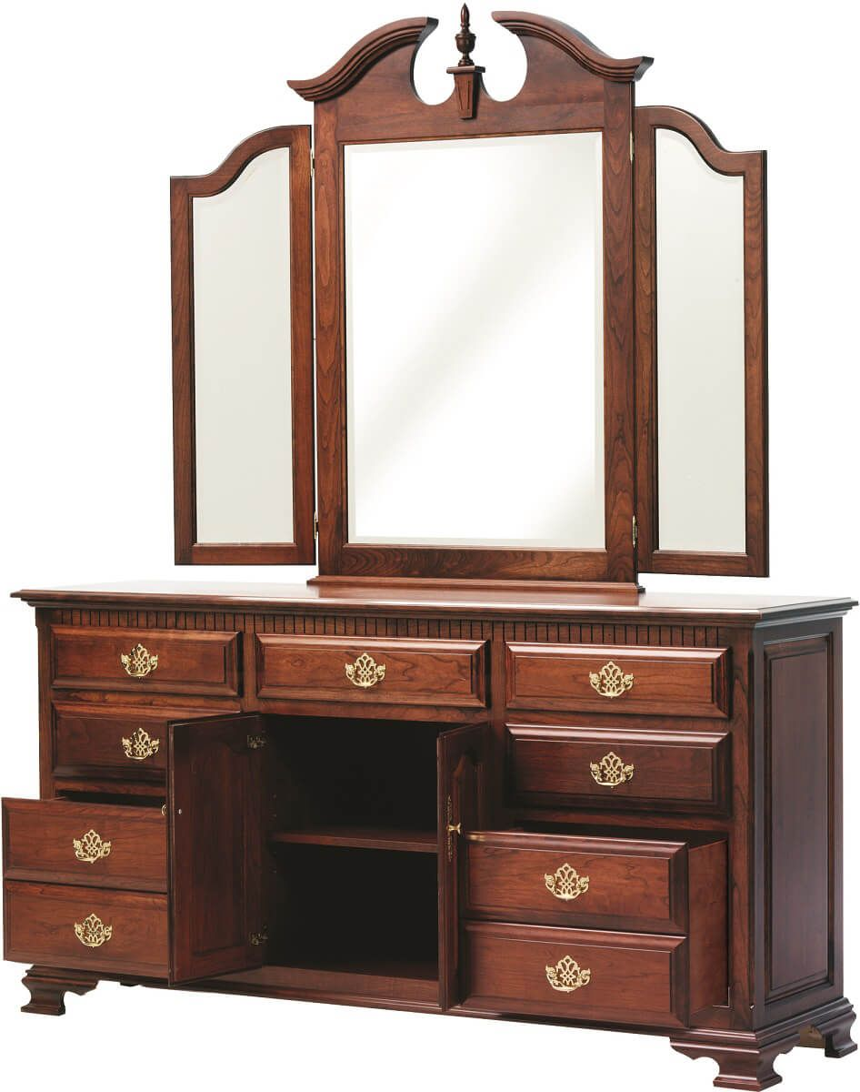 Traditional Cherry Dresser