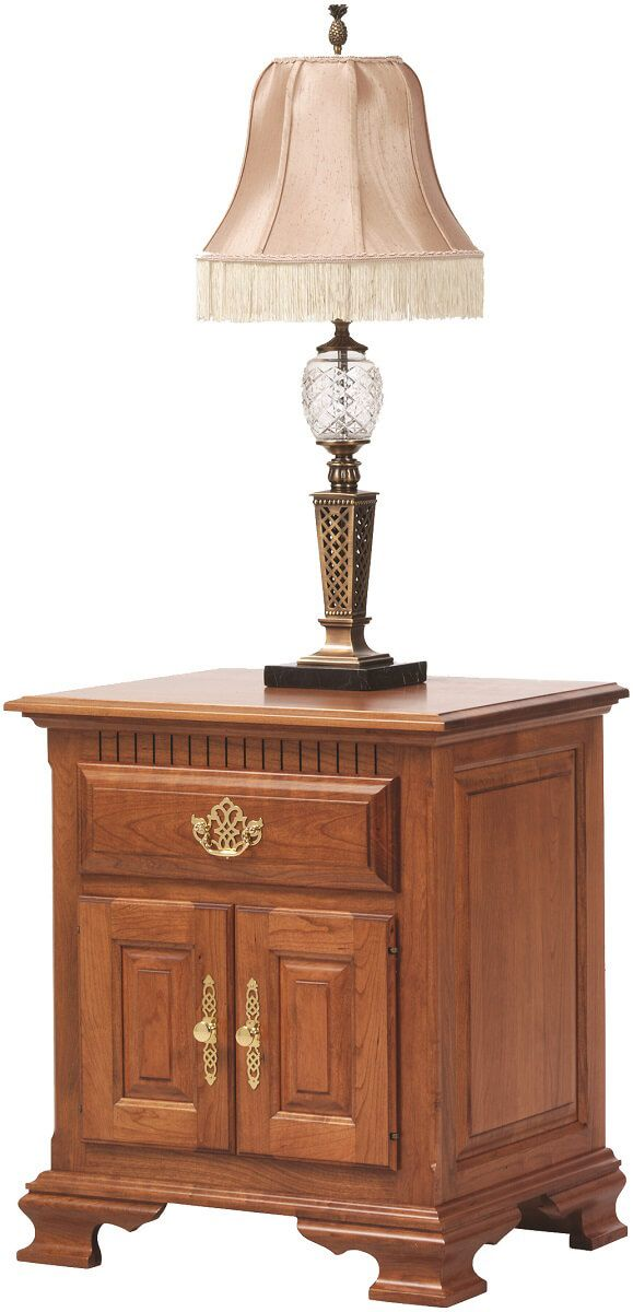Elizabeth's Tradition Amish Nightstand with Doors