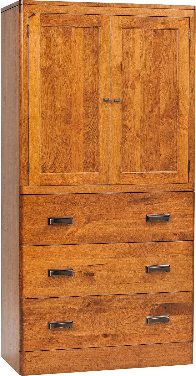 Galway Solid Wood Armoire