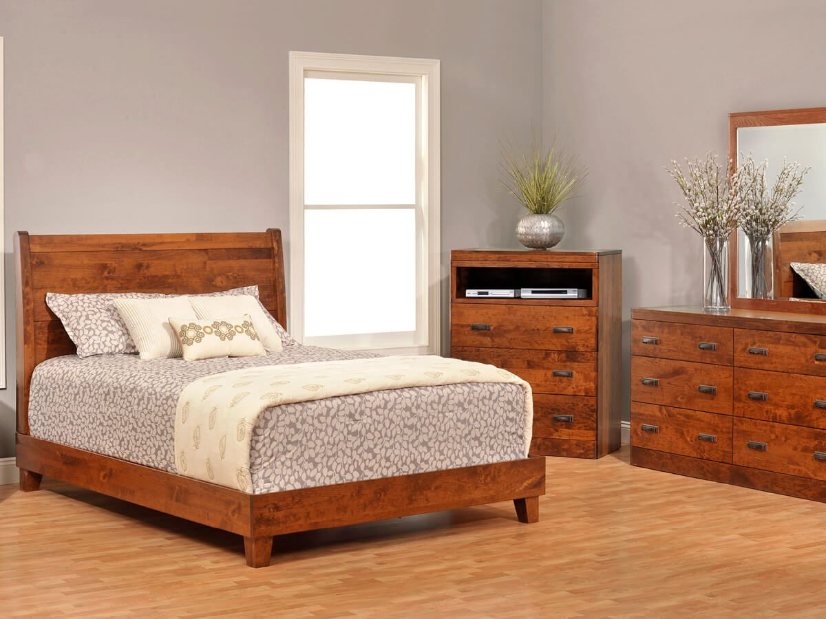 Galway Sleigh Bedroom Set.