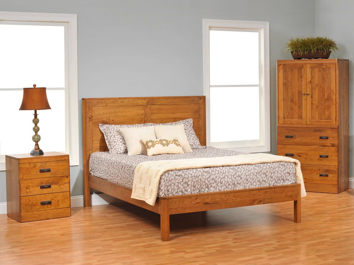 Galway Panel Bedroom Set