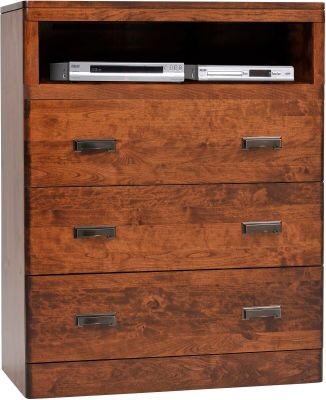 Galway Solid Wood Media Chest