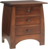 Garonne 3-Drawer Nightstand