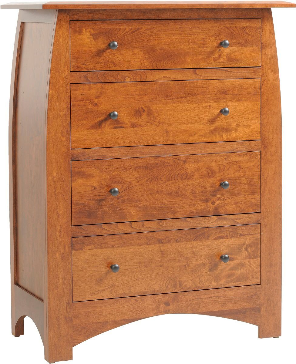 Garonne Solid Wood Chest of Drawers