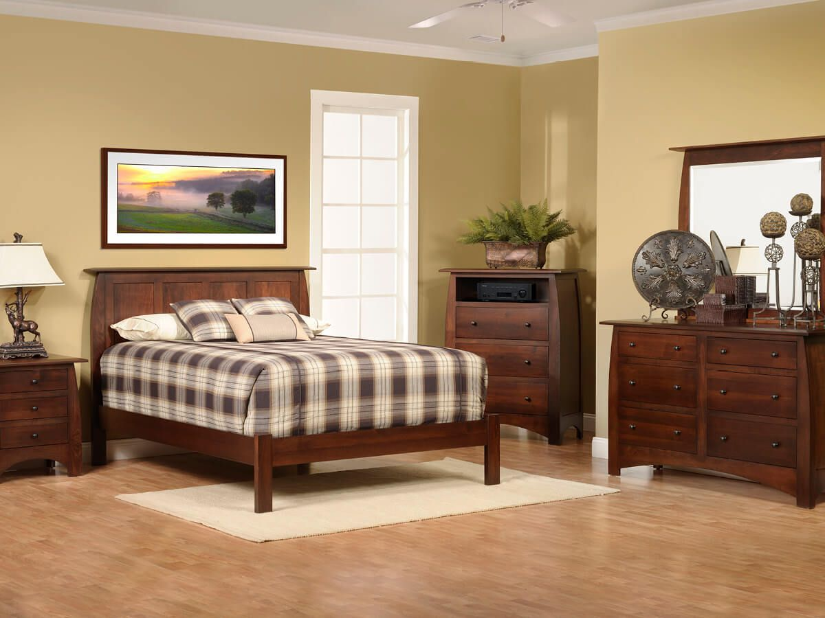 Brown Maple Bedroom Furniture