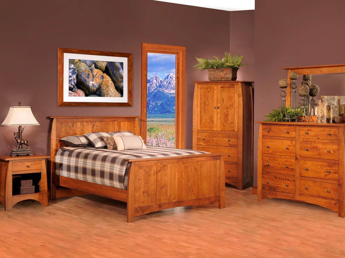Amish Made Craftsman Bedroom Set