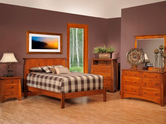 Rustic Cherry Bedroom Suite