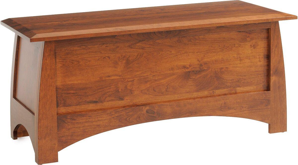 Garonne Solid Wood Blanket Chest