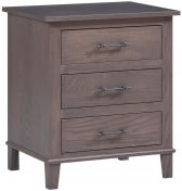 Lyons 3-Drawer Bedside Table