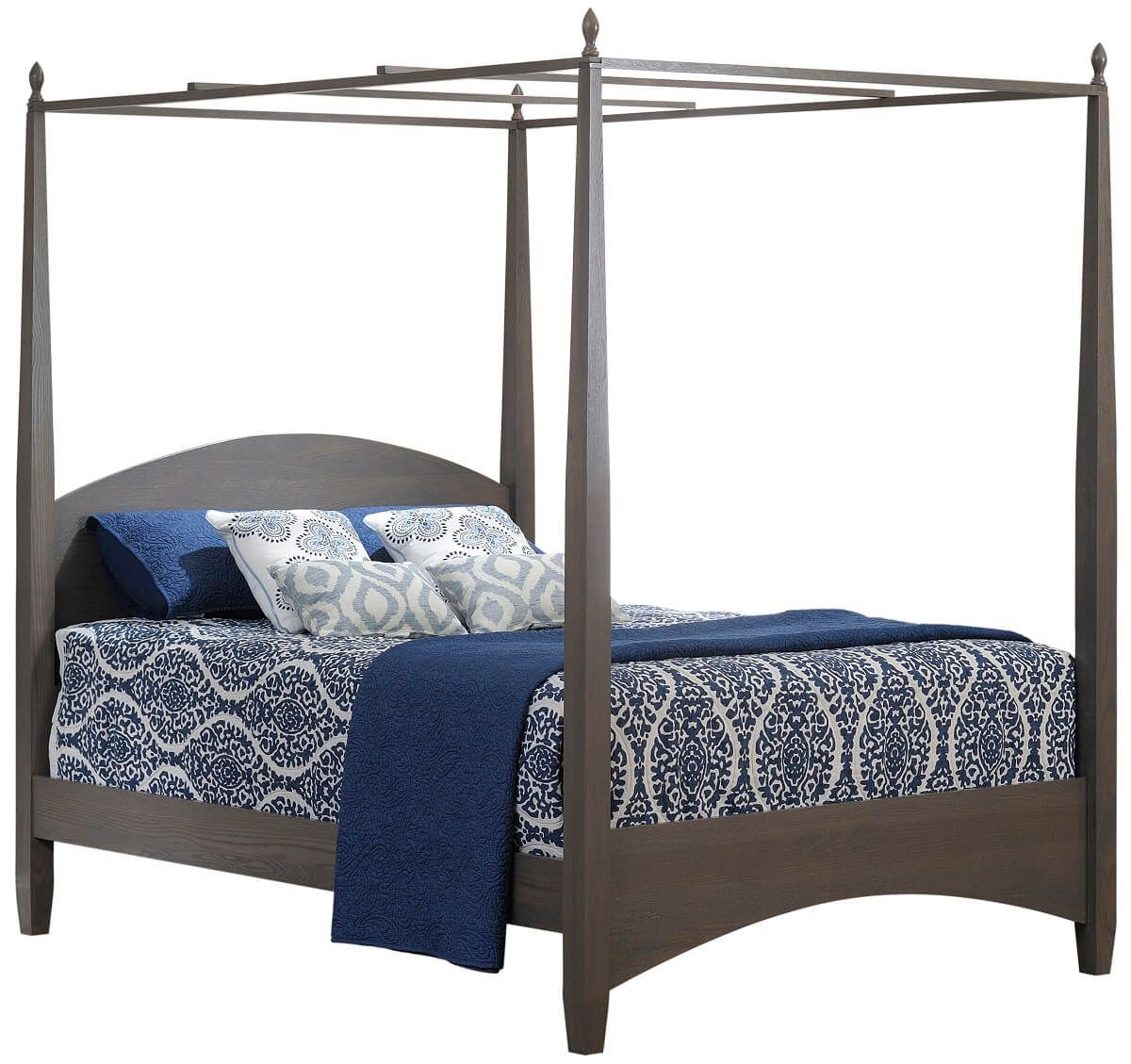 Pencil Post Bed with Optional Canopy