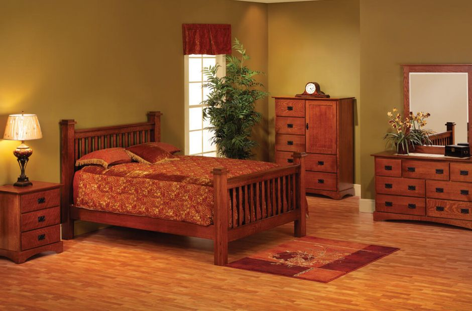Mission Hills Amish Bedroom Set - Countryside Amish Furniture