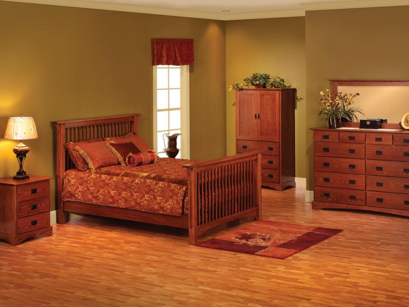 Mission Hills Amish Bedroom Set Countryside Amish Furniture