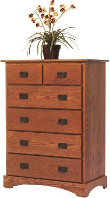 Mission Hills Solid Wood Chest of Drawers