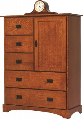 Mission Hills Door Chest