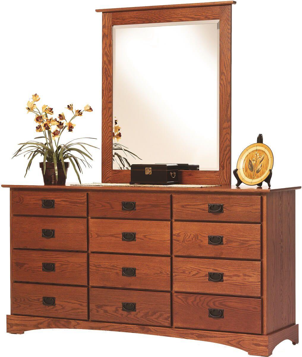 Mission Hills Dresser with Mirror